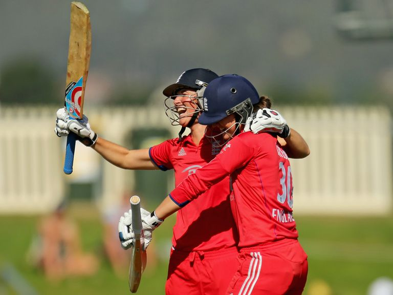 England's women retained the Ashes in Australia