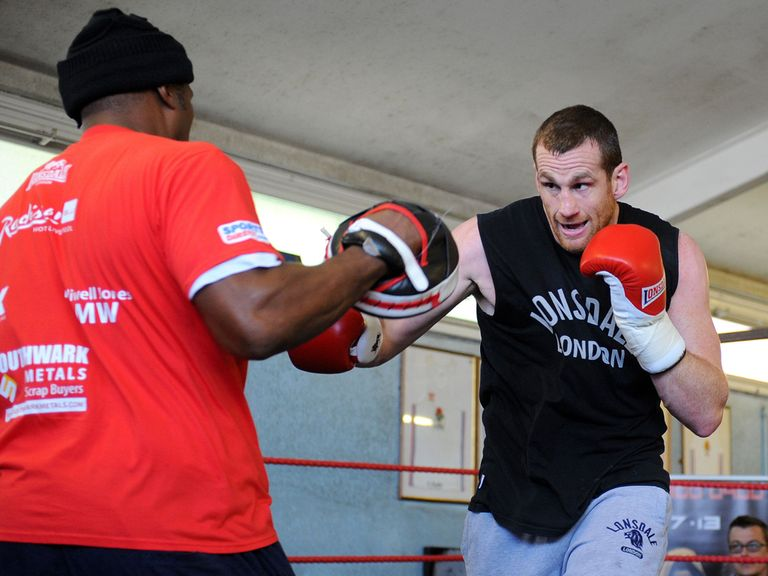 David Price: Hoping mind games will pay off at the weekend