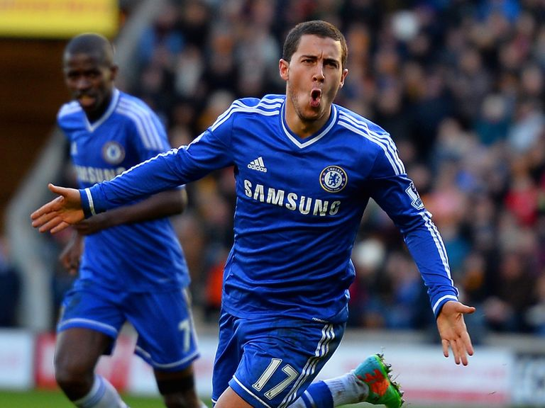 Eden Hazard: Happy at Chelsea