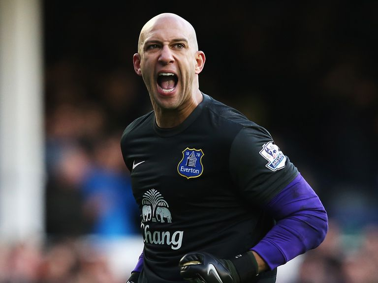 Tim Howard: Everton goalkeeper is focused on the race for fourth in the league