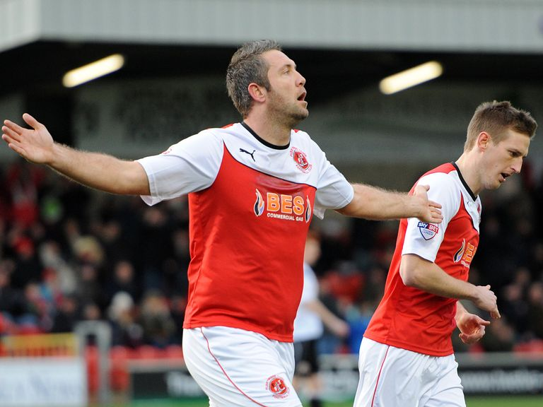 Jon Parkin netted as Fleetwood beat Accrington 3-1.