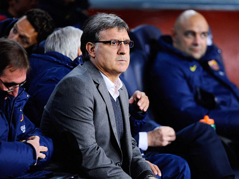 Gerardo Martino's Barcelona trail Real Madrid by four points
