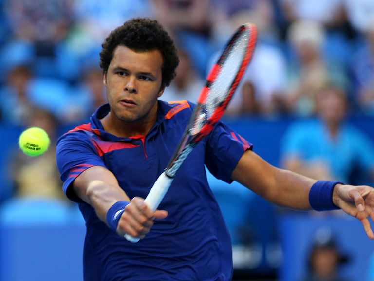 Jo-Wilfried Tsonga: Has reached the last eight