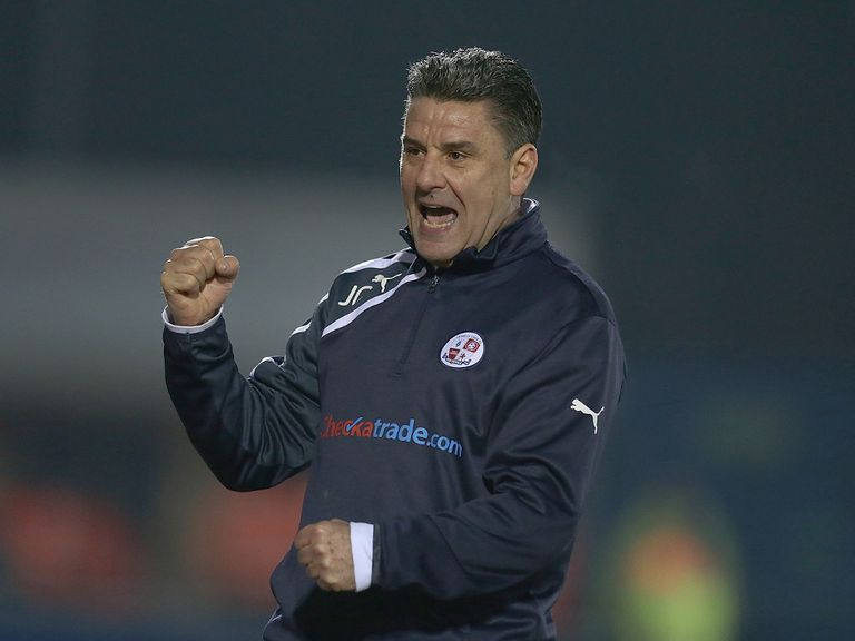 John Gregory's Crawley host Carlisle on Saturday