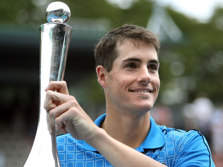 John Isner: Champion in Auckland