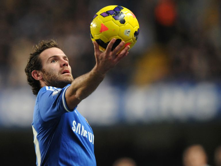 Juan Mata: Linked with a move to Manchester United