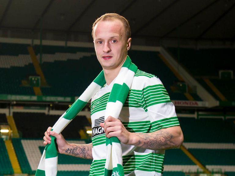Leigh Griffiths: Completes his move to Celtic