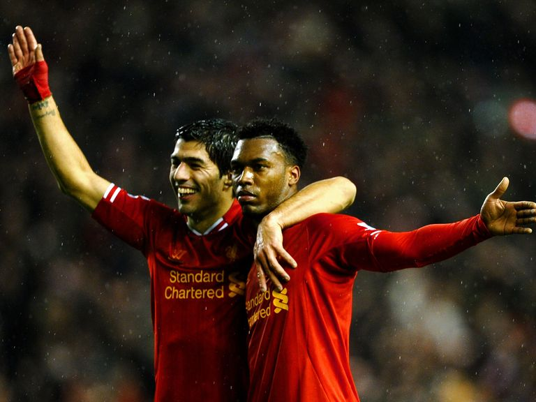 Suarez and Sturridge: Have 36 goals between them this season