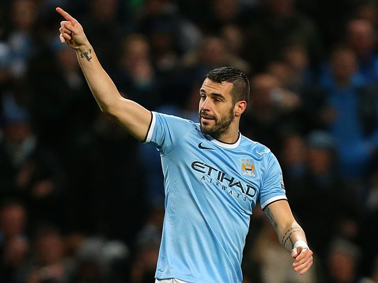 Alvaro Negredo: Linked with a move away from Man City