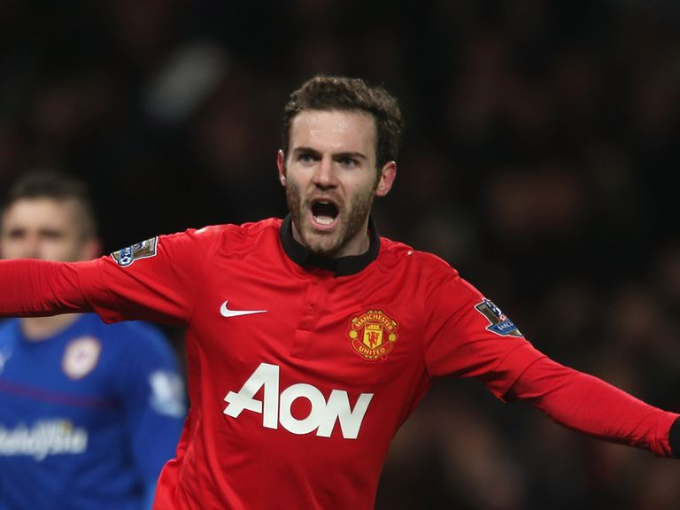 Juan Mata: Has received praise from Ryan Giggs