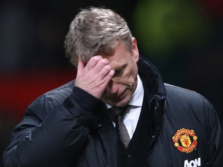 David Moyes: Under more scrutiny following another home defeat for Man Utd