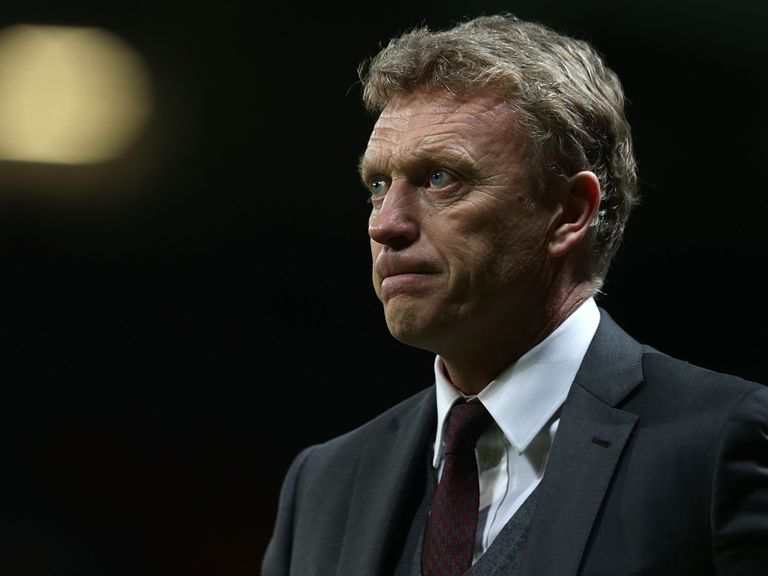 David Moyes: Fumed as Manchester United lost again