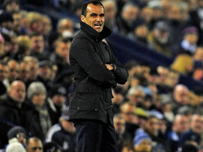Roberto Martinez: Everton boss has signed Jindrich Stanek