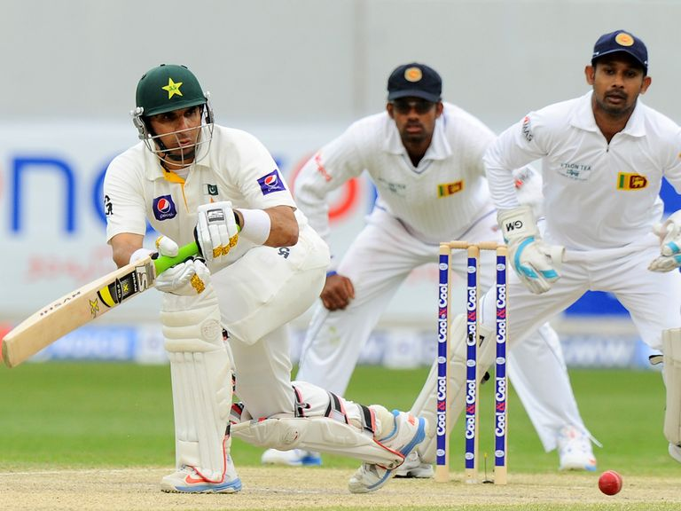 Misbah-ul-Haq: Narrowly missed out on a century