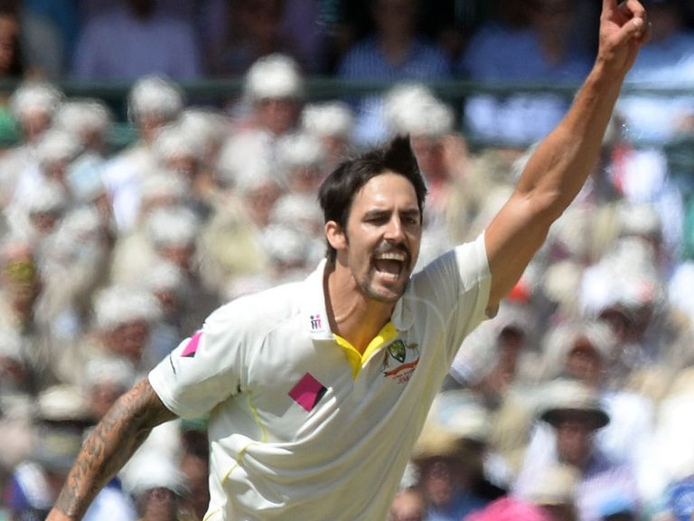 Mitchell Johnson: Now eighth in the bowling rankings after tearing into England