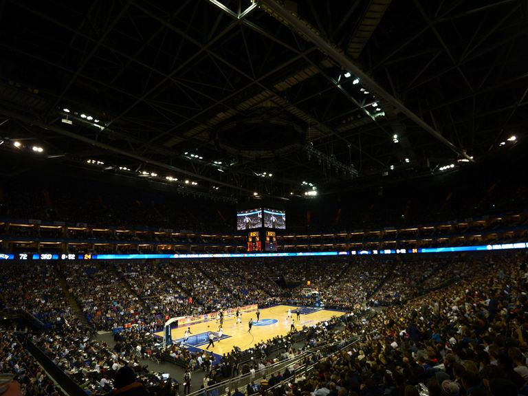 NBA stars attracted a sell-out crowd at London's O2 Arena