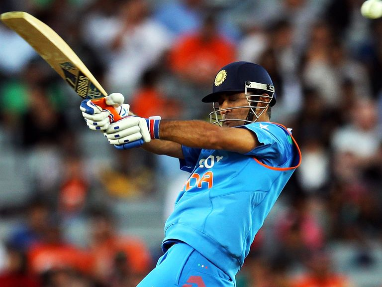Dhoni: Preparing for his side's opening clash