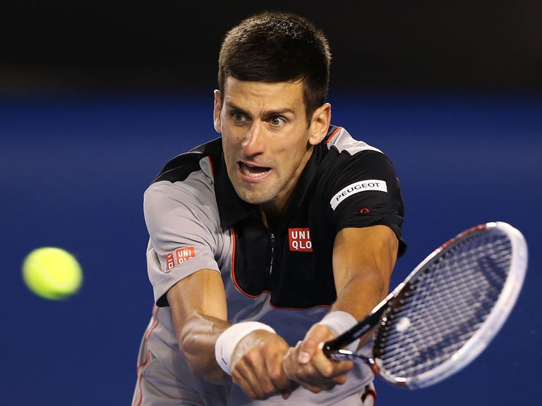 Novak Djokovic: Looking to claim his fifth title in Dubai