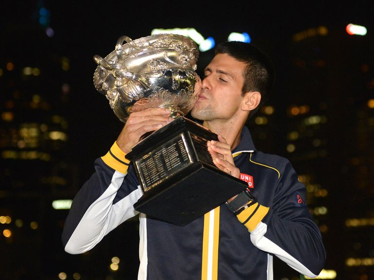 Novak Djokovic: Can keep his vice-like grip on the Australian Open trophy