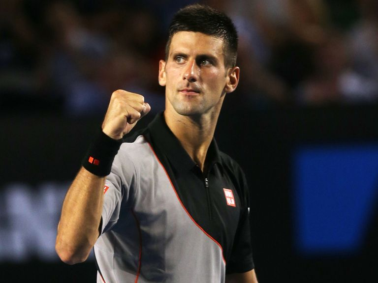 Novak Djokovic: Tested in the second set by Lacko