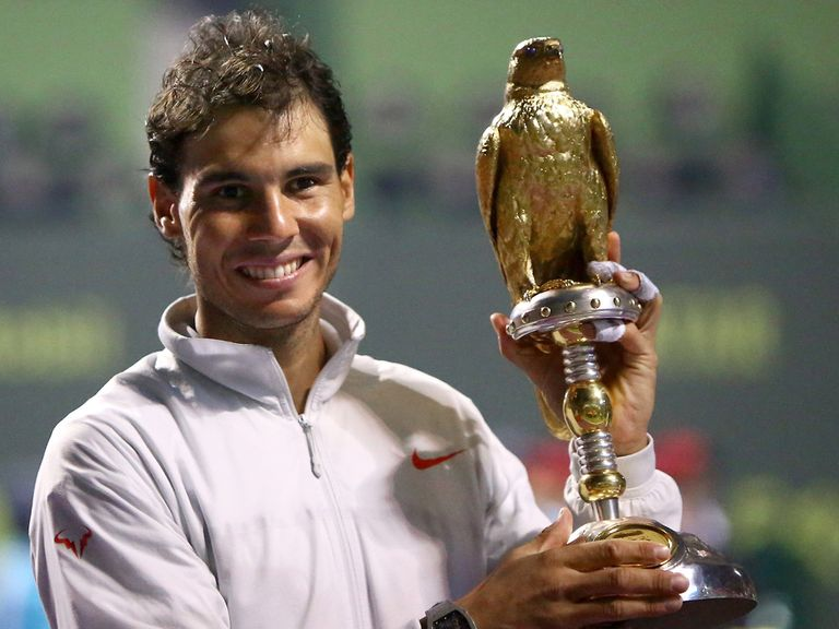 Rafael Nadal: Won in Doha but failed to truly impress