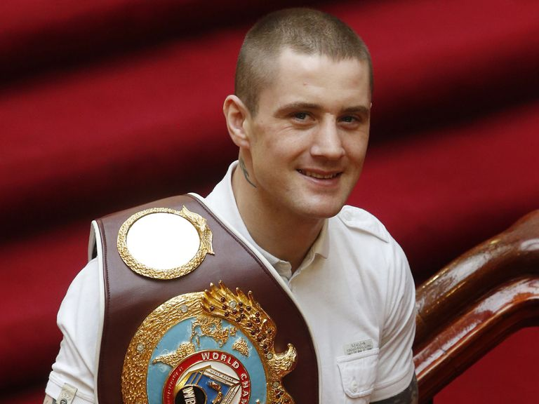 Ricky Burns: Sparring once more after a broken jaw