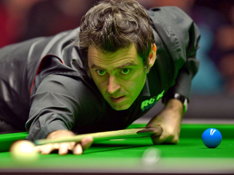 Ronnie O'Sullivan: Impressed as he thrashed John Higgins