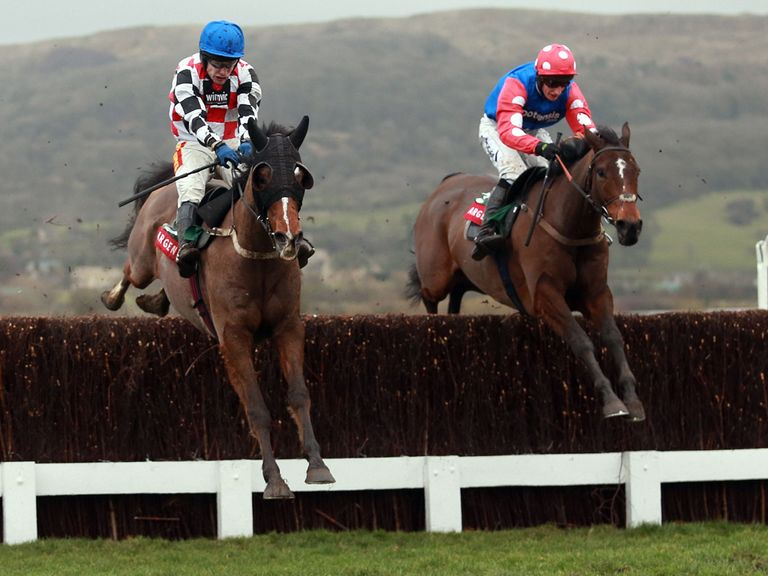 Rocky Creek (right): Will get a Grand National entry