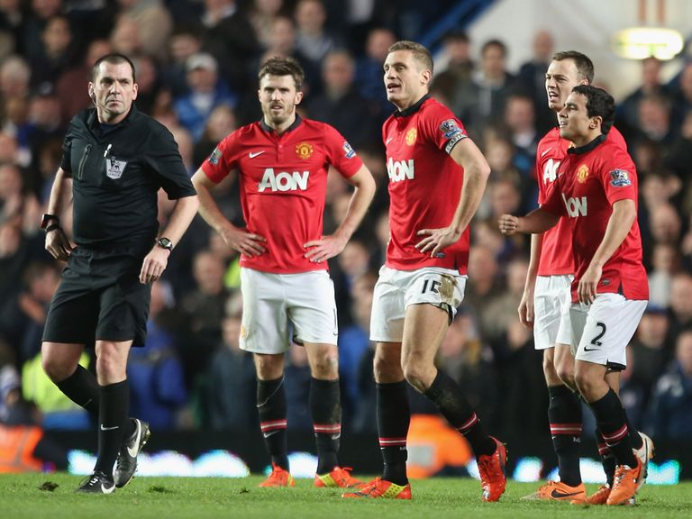 Vidic: Three-game ban after red card at Chelsea
