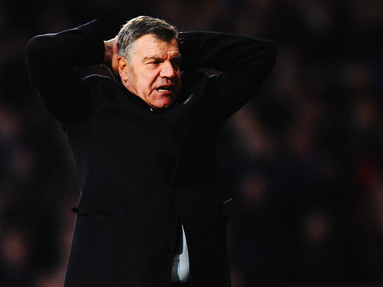 Sam Allardyce: Struggling in the transfer market