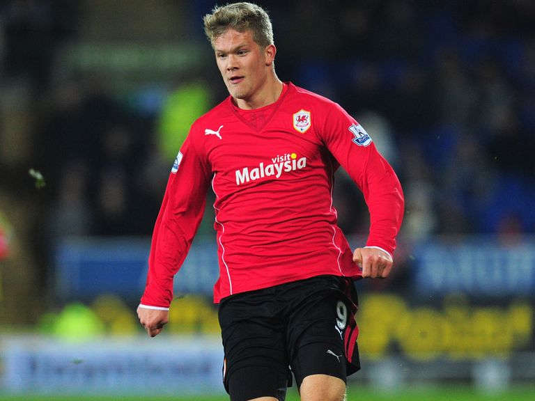 Andreas Cornelius: Failed to score for Cardiff