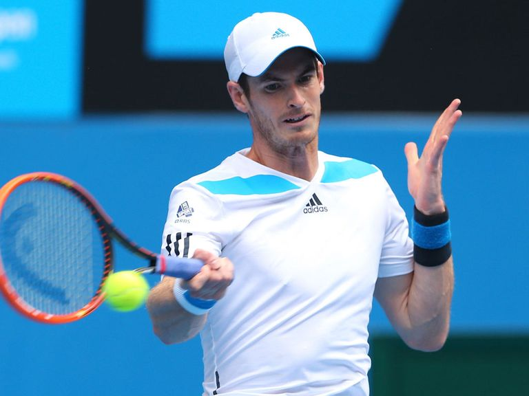 Andy Murray: Faces a lucky loser in Melbourne