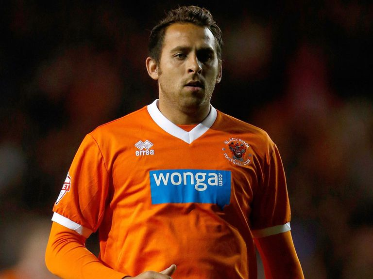 Michael Chopra: Yet to score for Blackpool