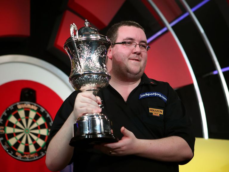 Stephen Bunting: Landed a touch for Cheeky Punt