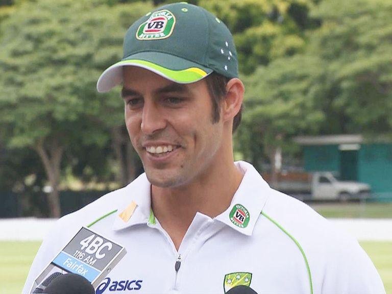 Mitchell Johnson: Plans more misery for England's batsmen
