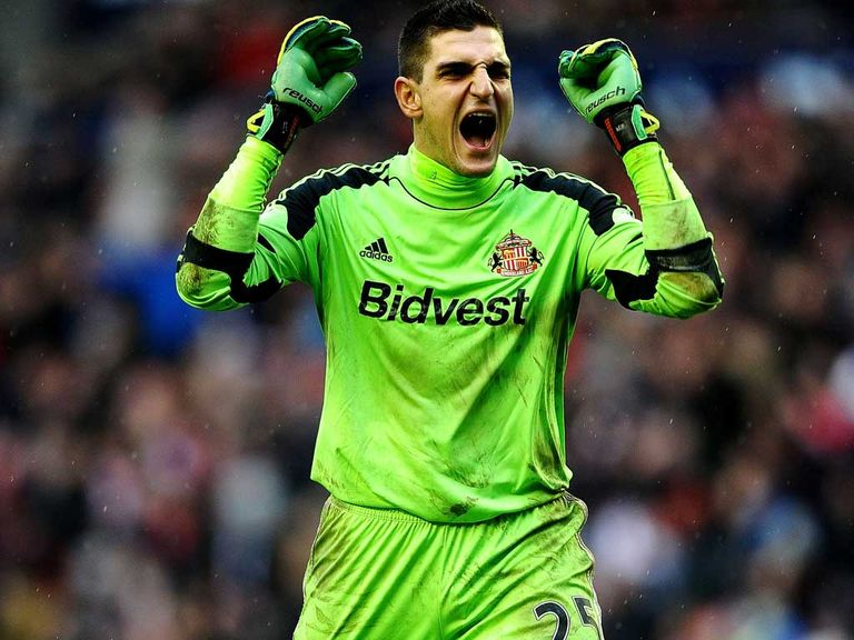 Mannone: Keen to make history with Sunderland at Wembley