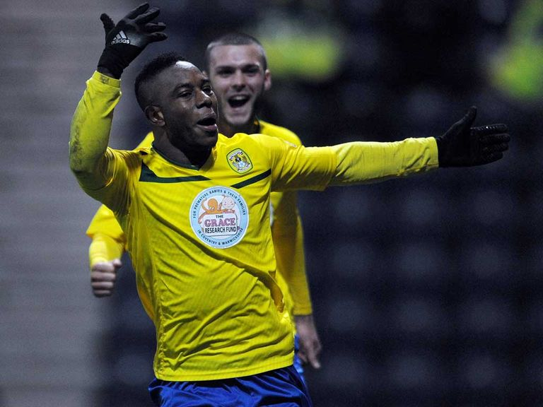 Franck Moussa: Early goal sent Coventry on way to victory