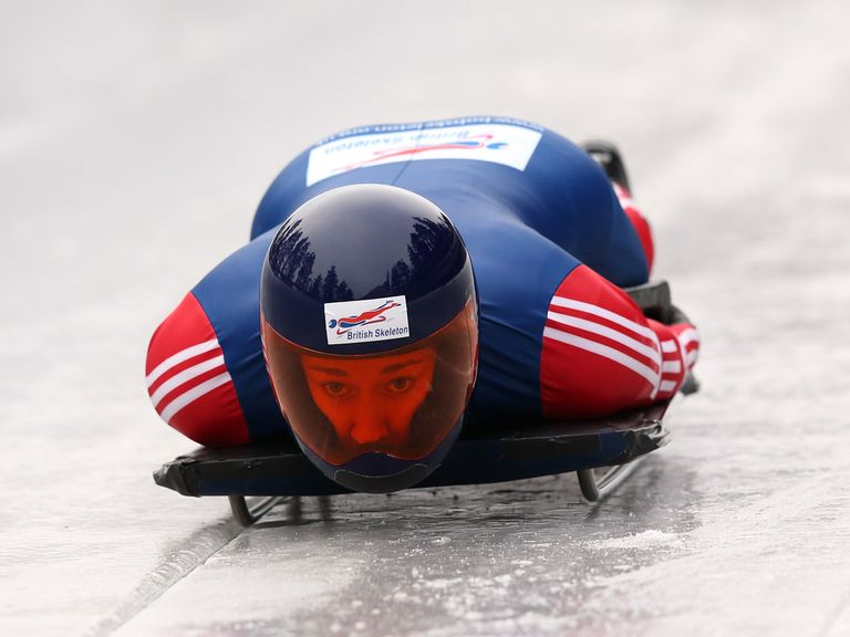 Lizzy Yarnold: Goes for skeleton gold on February 13-14