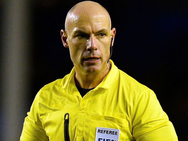Howard Webb: In charge of Brazil v Chile
