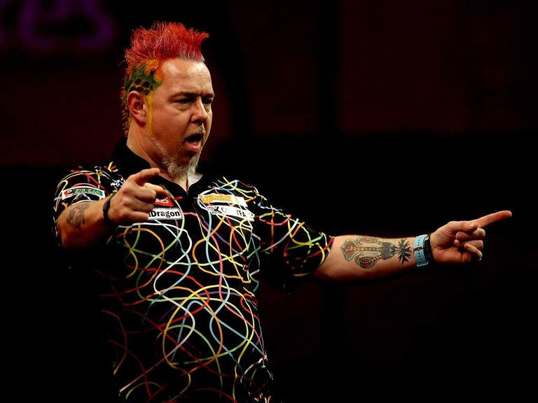 Peter Wright: Can join the big three in the last four