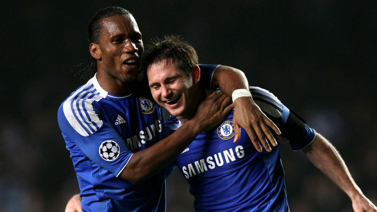 Didier Drogba & Frank Lampard: Will be on opposing sides in Istanbul on Wednesday