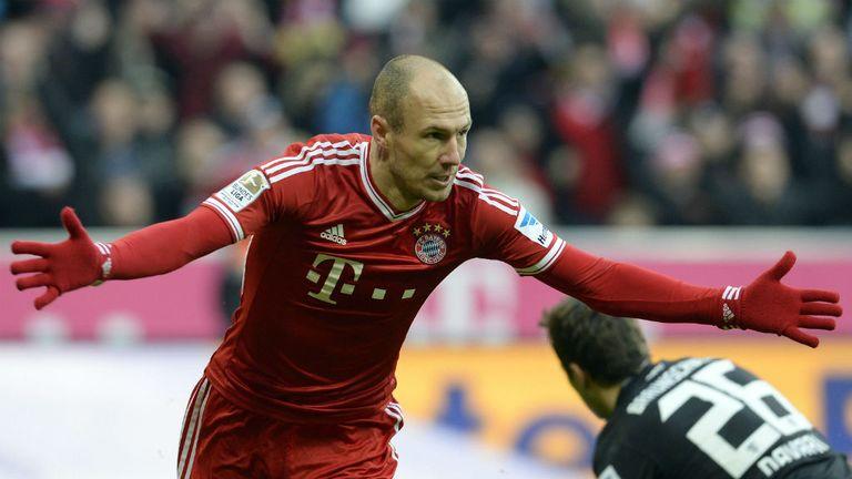 Arjen Robben: Hat-trick hero