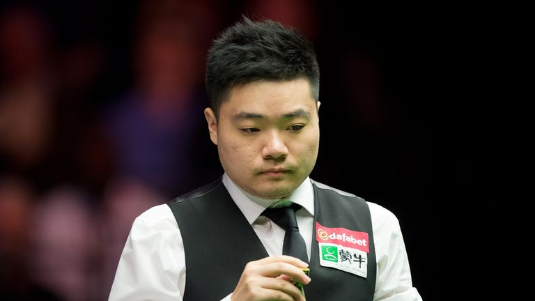 Ding Junhui: Rattled off six straight frames en route to a 9-5 win over Judd Trump