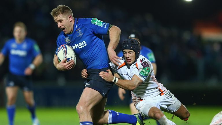 Luke Fitzgerald: Claimed two tries for Leinster
