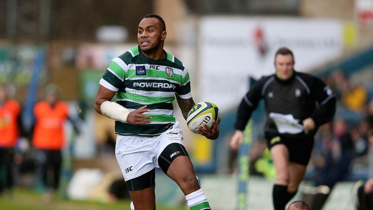 Sailosi Tagicakibau: Scored 58 tries in 158 appearances for London Irish