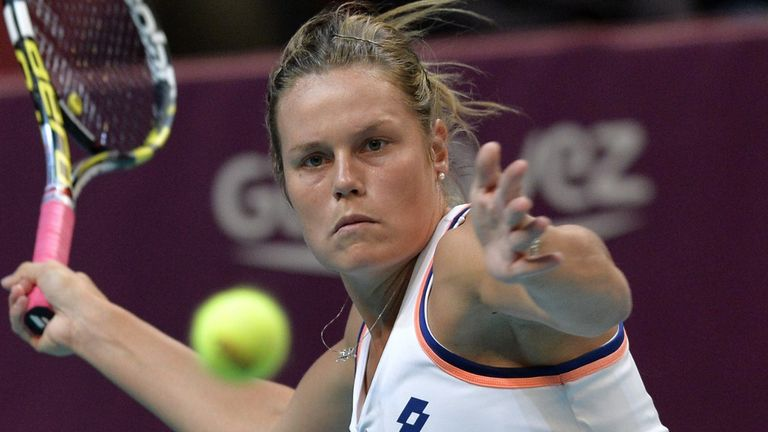 Karin Knapp: Crashed out in straight sets