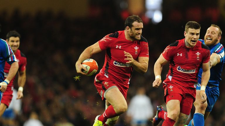Jamie Roberts' powerful running will be key to Wales