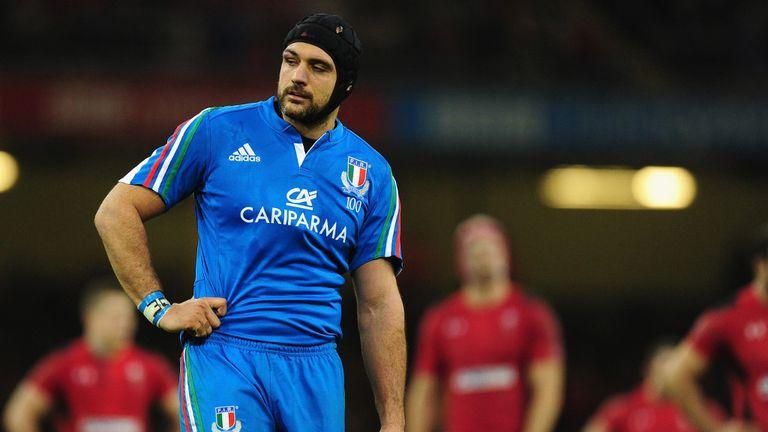 Marco Bortolami: Lock will captain Italy in Dublin