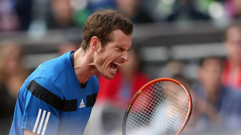 Andy Murray: Back in action in Holland next week