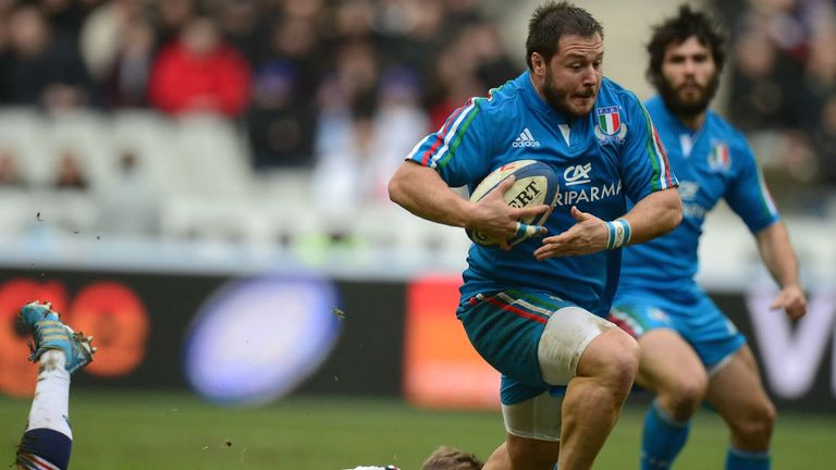 Alberto De Marchi: Will team up with Sale Sharks in the summer